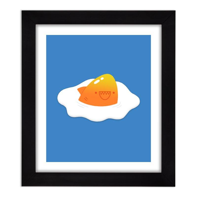 Dangerous Breakfast Home Framed Fine Art Print by Mauro Gatti House of Fun