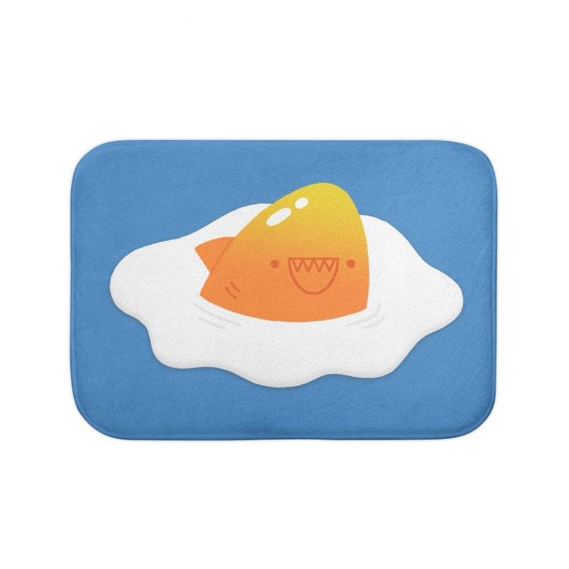 Dangerous Breakfast Home Bath Mat by Mauro Gatti House of Fun