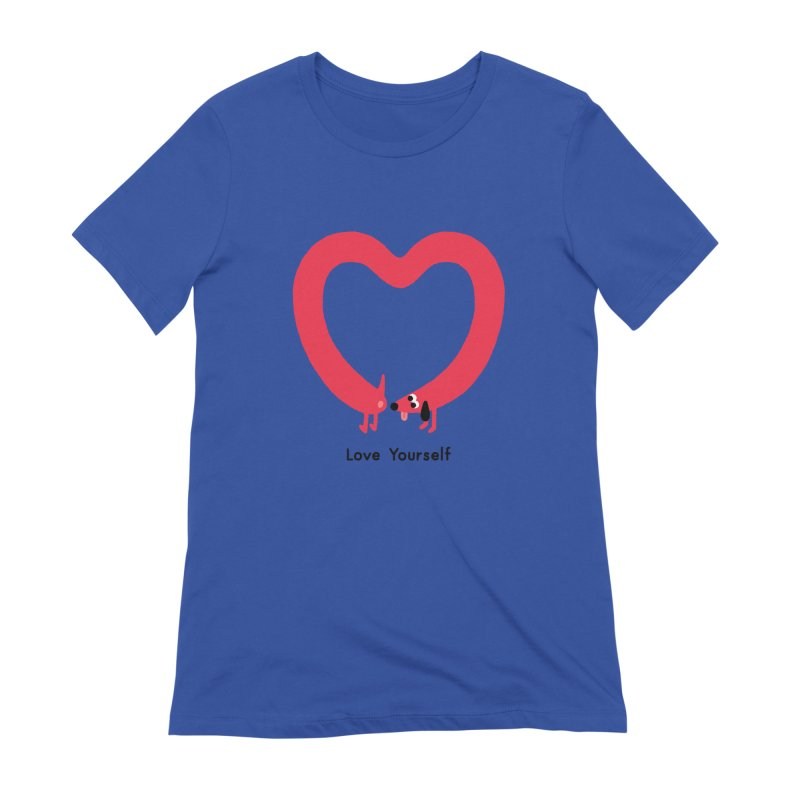 Love Yourself Women's Extra Soft T-Shirt by Mauro Gatti House of Fun