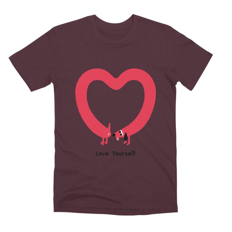 Love Yourself Men's Premium T-Shirt by Mauro Gatti House of Fun