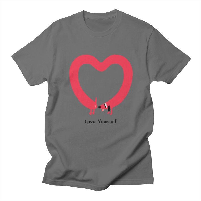 Love Yourself Women's T-Shirt by Mauro Gatti House of Fun