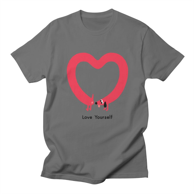 Love Yourself Men's T-Shirt by Mauro Gatti House of Fun