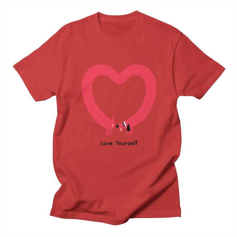 Love Yourself Women's Regular Unisex T-Shirt by Mauro Gatti House of Fun