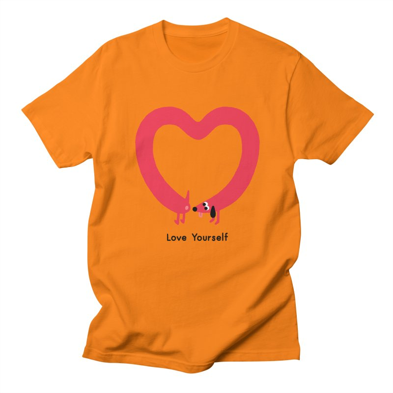 Love Yourself Women's Regular Unisex T-Shirt by Mauro Gatti House of Fun