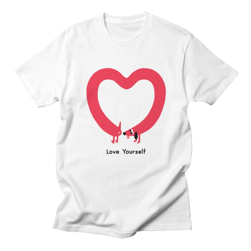 Love Yourself Men's Regular T-Shirt by Mauro Gatti House of Fun