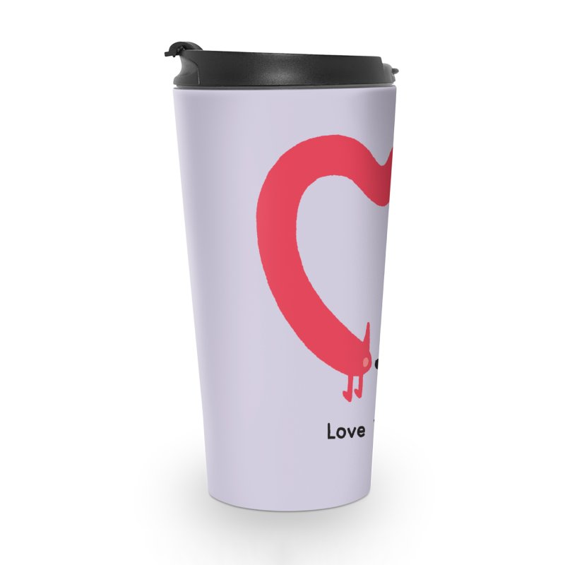 Love Yourself Accessories Travel Mug by Mauro Gatti House of Fun