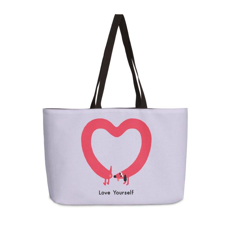 Love Yourself Accessories Bag by Mauro Gatti House of Fun