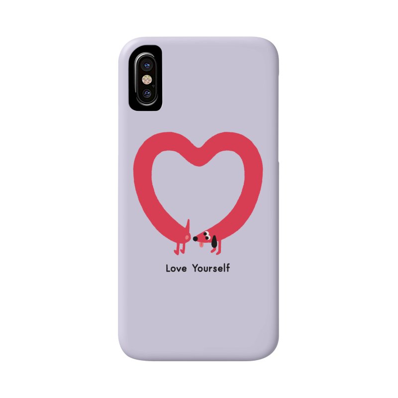 Love Yourself Accessories Phone Case by Mauro Gatti House of Fun