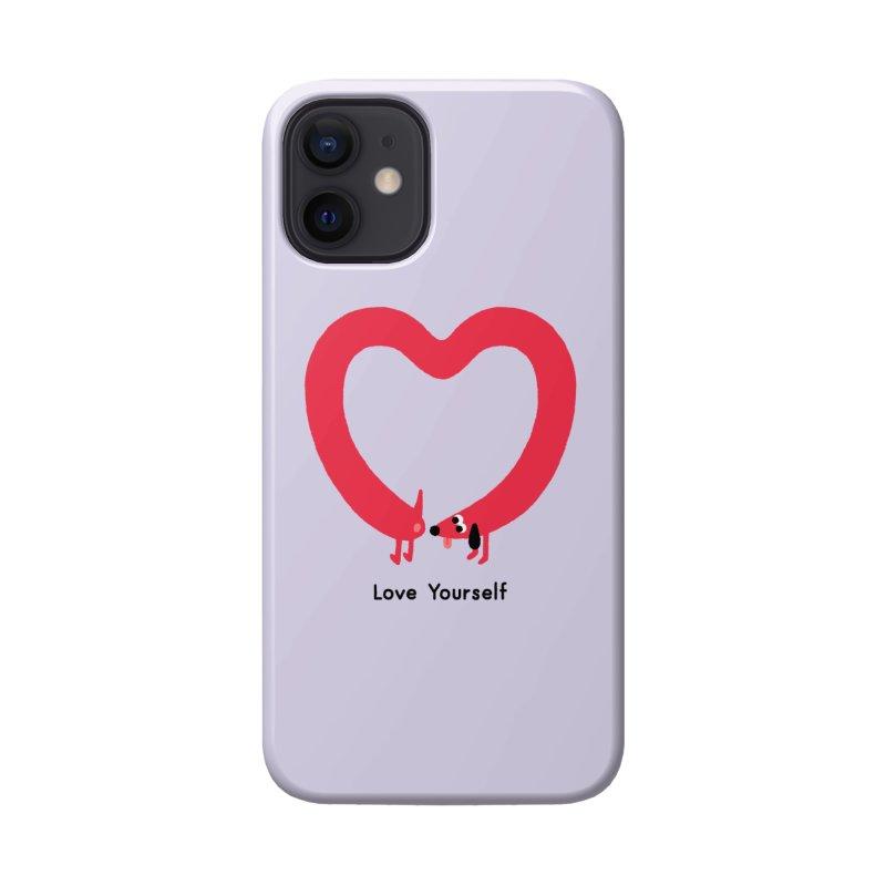 Love Yourself Accessories Phone Case by Mauro Gatti House of Fun
