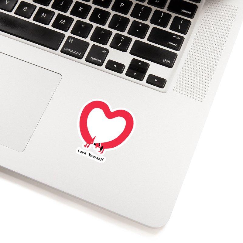 Love Yourself Accessories Sticker by Mauro Gatti House of Fun