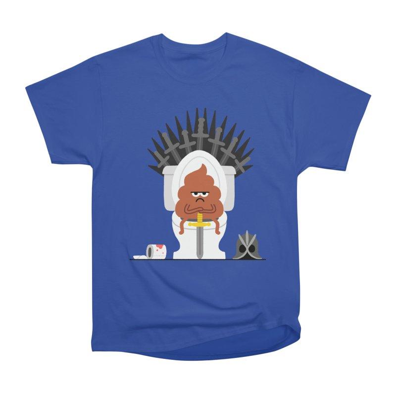 Game of Toilet Women's Heavyweight Unisex T-Shirt by Mauro Gatti House of Fun