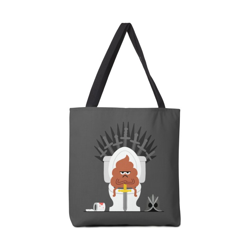Game of Toilet Accessories Tote Bag Bag by Mauro Gatti House of Fun