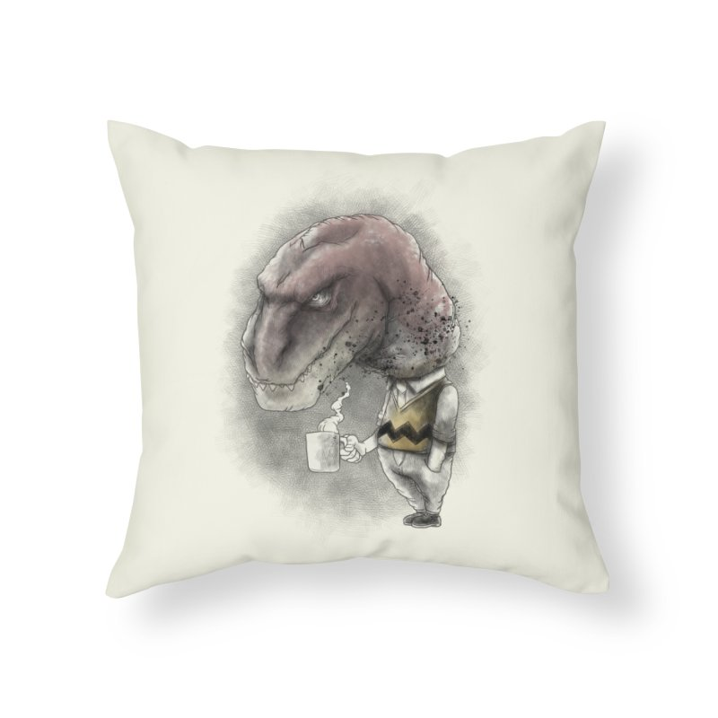 Not a tea person... Home Throw Pillow by maus ventura's Artist Shop