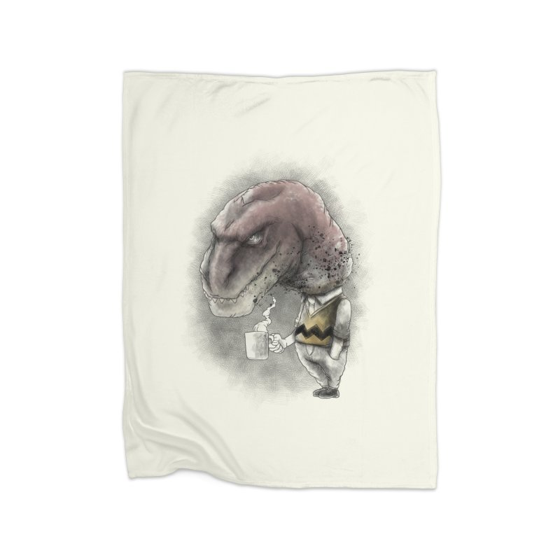 Not a tea person... Home Fleece Blanket Blanket by maus ventura's Artist Shop