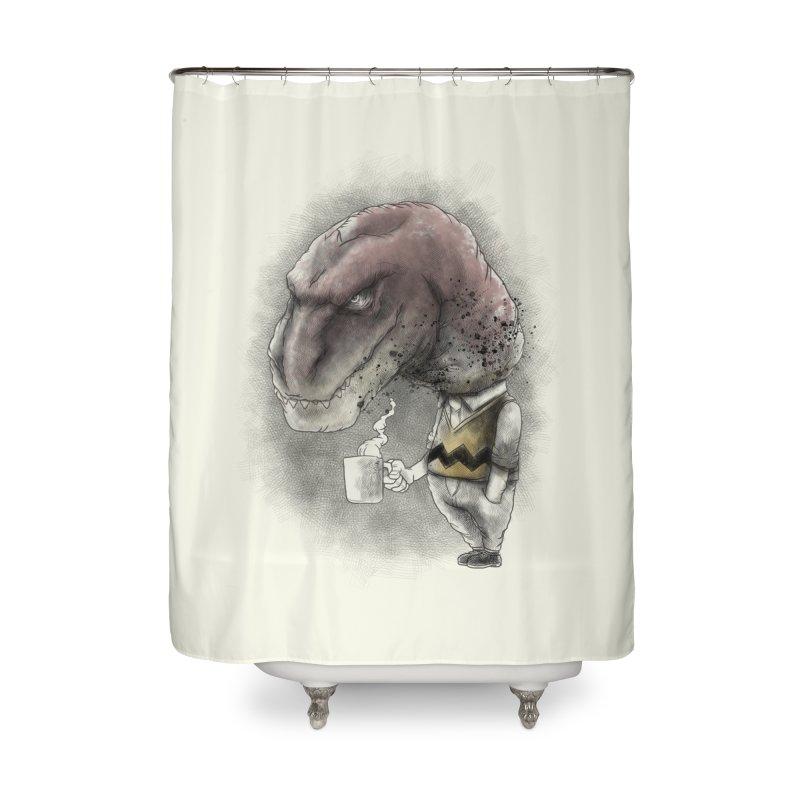 Not a tea person... Home Shower Curtain by maus ventura's Artist Shop