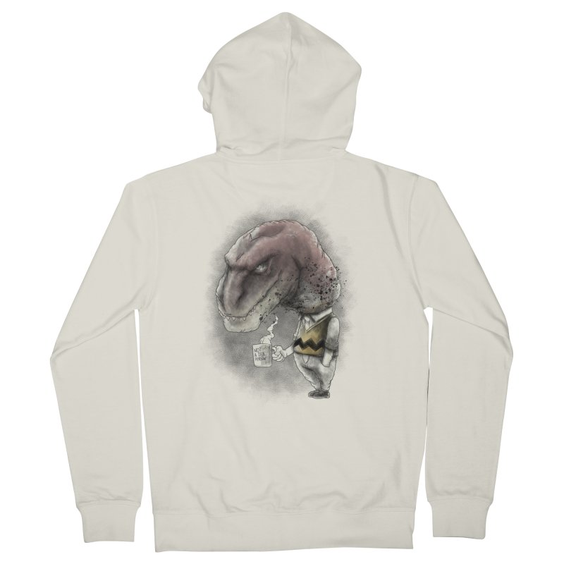 Not a tea person... Men's Zip-Up Hoody by maus ventura's Artist Shop