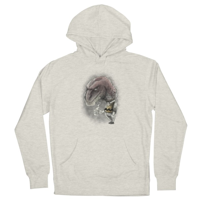 Not a tea person... Men's French Terry Pullover Hoody by maus ventura's Artist Shop