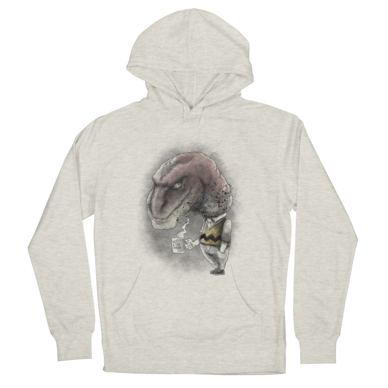 Not a tea person... Women's French Terry Pullover Hoody by maus ventura's Artist Shop