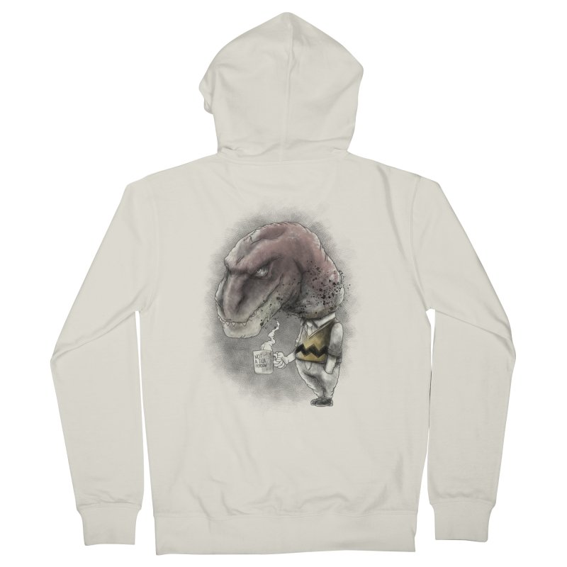 Not a tea person... Men's French Terry Zip-Up Hoody by maus ventura's Artist Shop