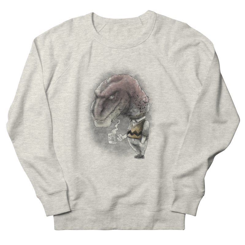 Not a tea person... in Men's French Terry Sweatshirt Heather Oatmeal by maus ventura's Artist Shop