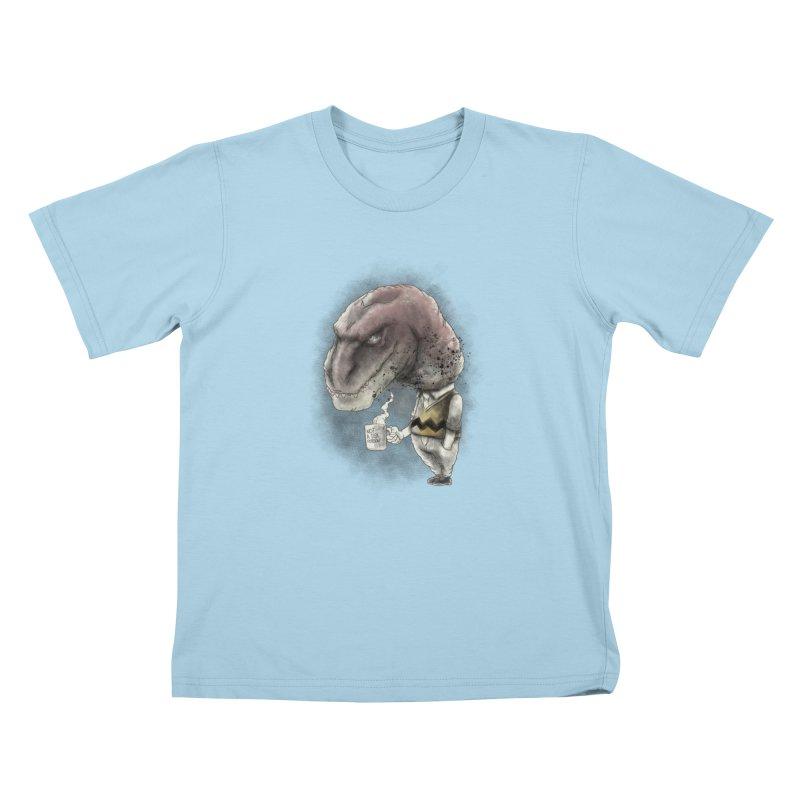 Not a tea person... Kids T-Shirt by maus ventura's Artist Shop
