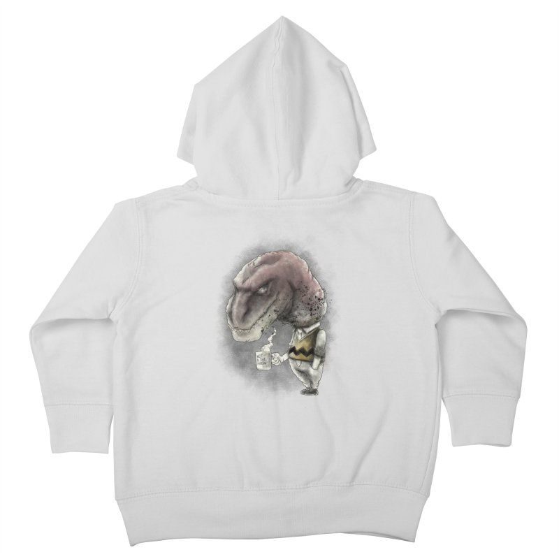 Not a tea person... Kids Toddler Zip-Up Hoody by maus ventura's Artist Shop