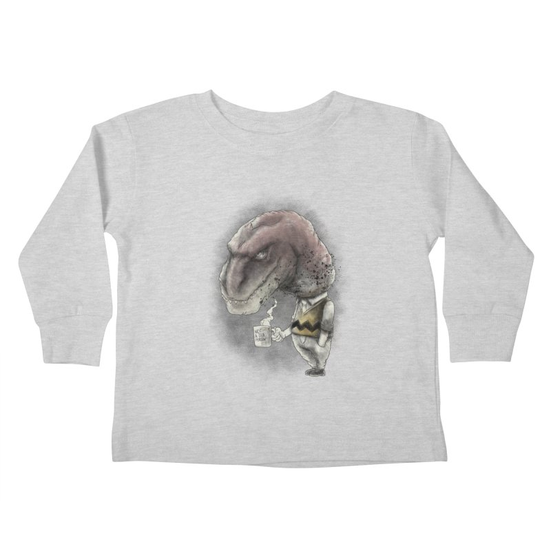 Not a tea person... Kids Toddler Longsleeve T-Shirt by maus ventura's Artist Shop