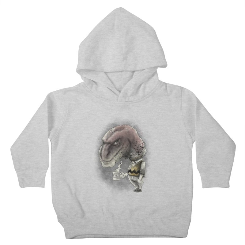 Not a tea person... Kids Toddler Pullover Hoody by maus ventura's Artist Shop