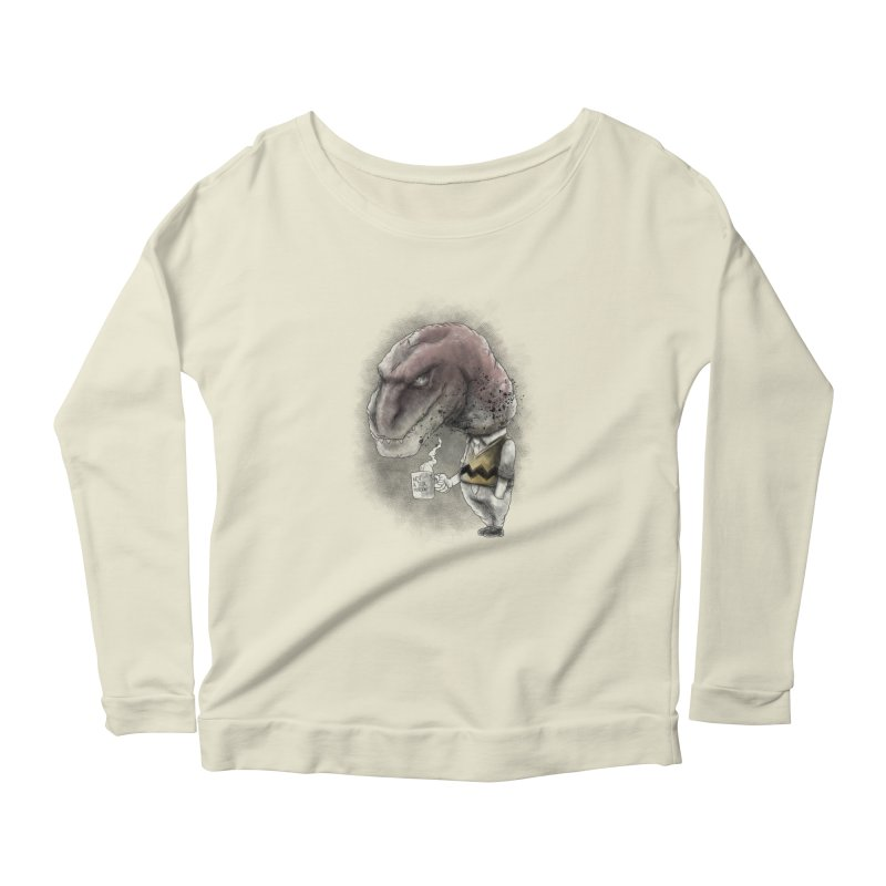 Not a tea person... Women's Scoop Neck Longsleeve T-Shirt by maus ventura's Artist Shop