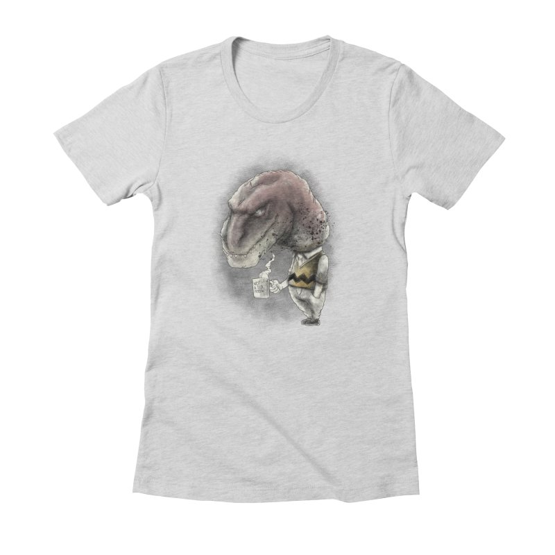Not a tea person... Women's Fitted T-Shirt by maus ventura's Artist Shop