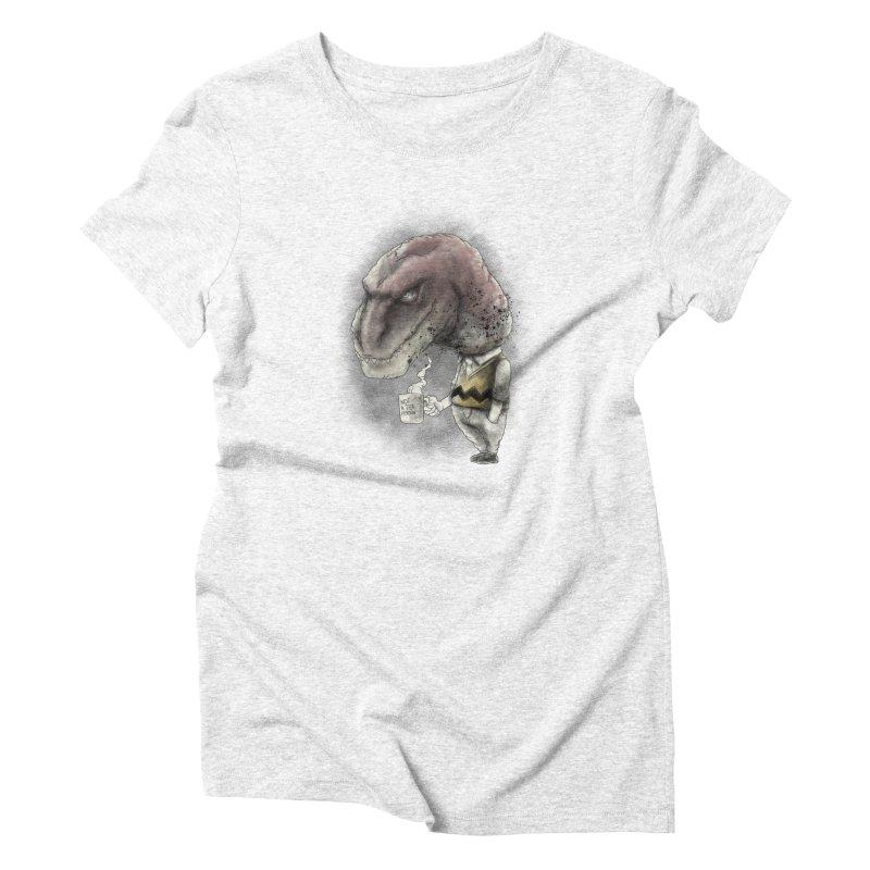 Not a tea person... Women's Triblend T-shirt by maus ventura's Artist Shop