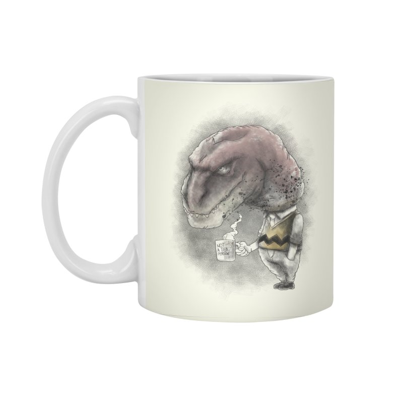Not a tea person... Accessories Standard Mug by maus ventura's Artist Shop