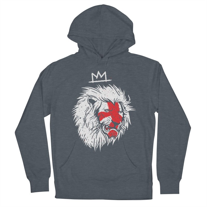 Conquer Men's French Terry Pullover Hoody by maus ventura's Artist Shop