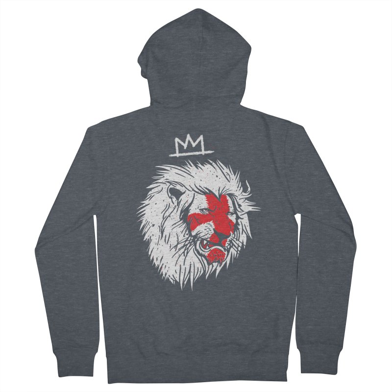 Conquer Women's French Terry Zip-Up Hoody by maus ventura's Artist Shop