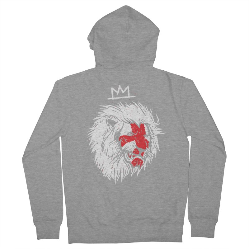 Conquer Men's French Terry Zip-Up Hoody by maus ventura's Artist Shop