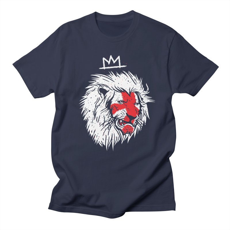 Conquer in Men's Regular T-Shirt Navy by maus ventura's Artist Shop