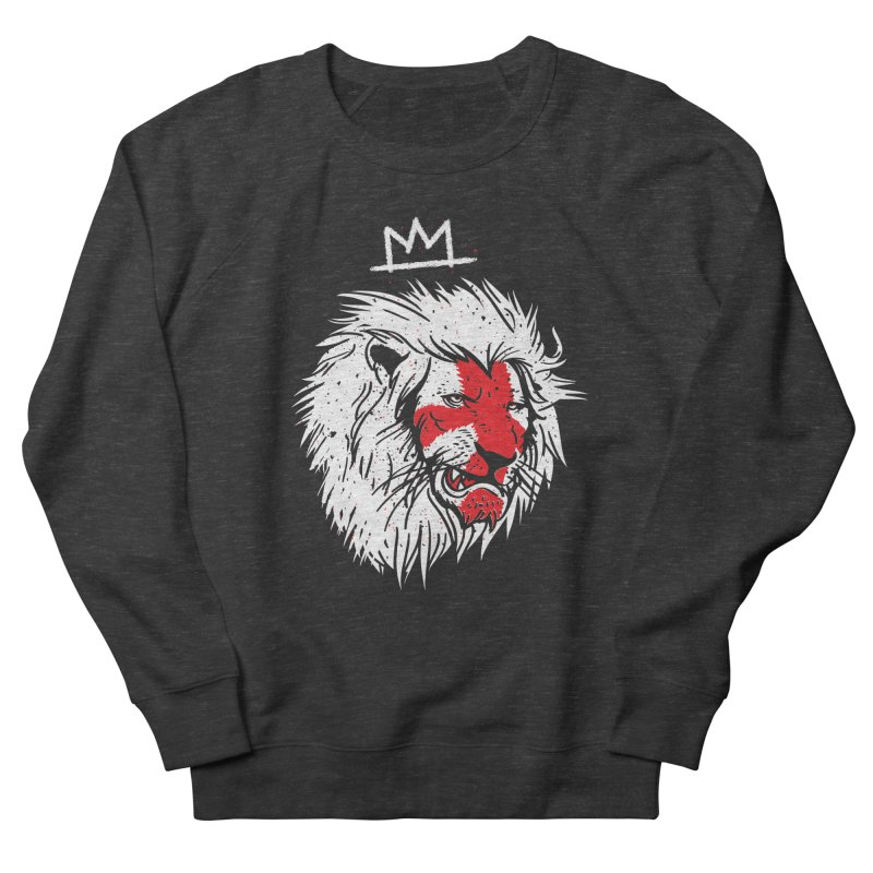 Conquer Men's French Terry Sweatshirt by maus ventura's Artist Shop