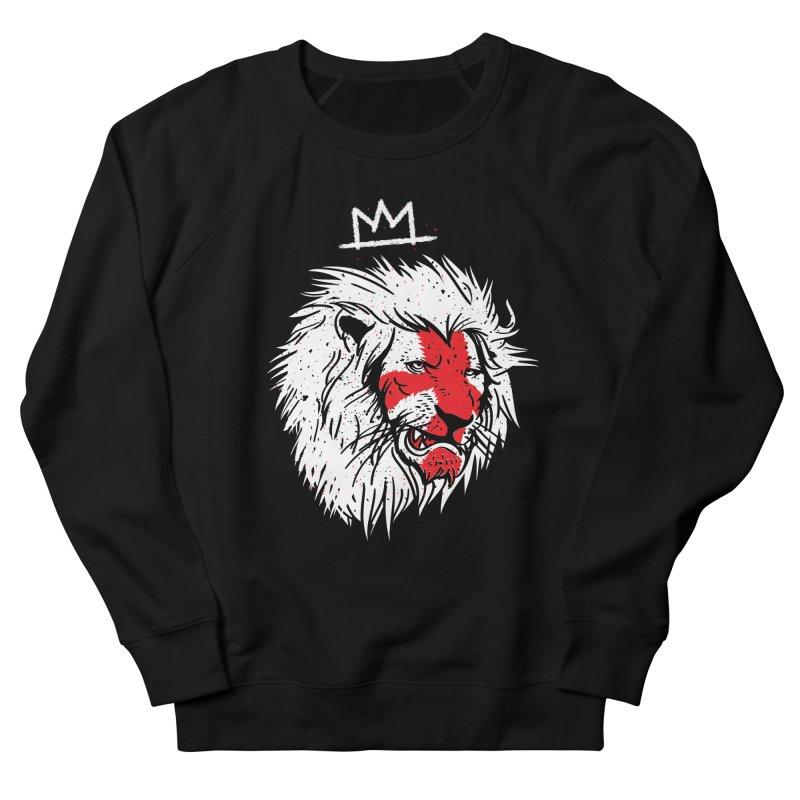 Conquer Men's French Terry Sweatshirt by maus ventura's Artist Shop