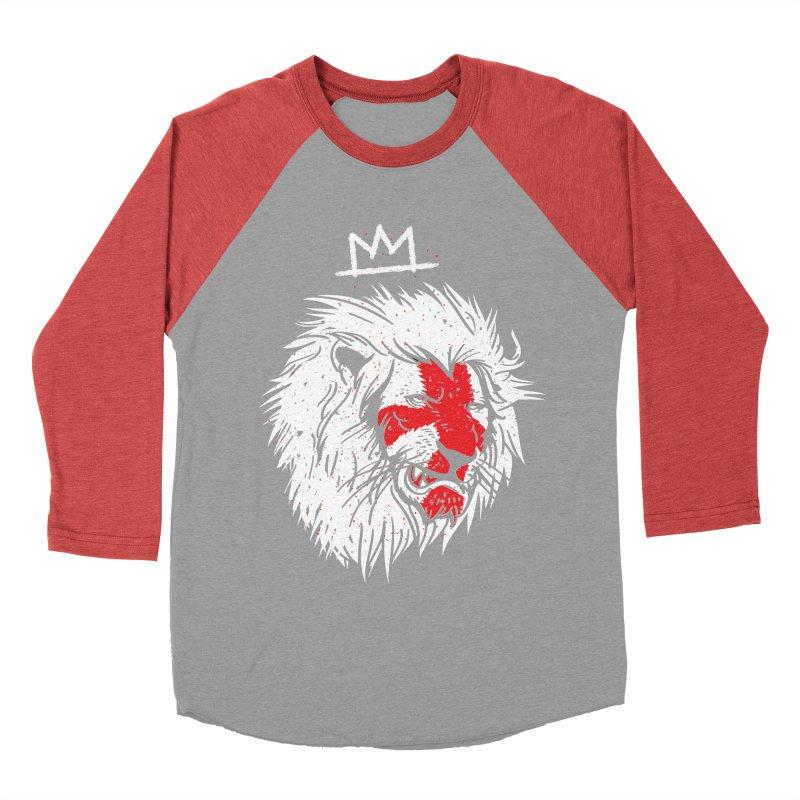 Conquer Men's Baseball Triblend T-Shirt by maus ventura's Artist Shop