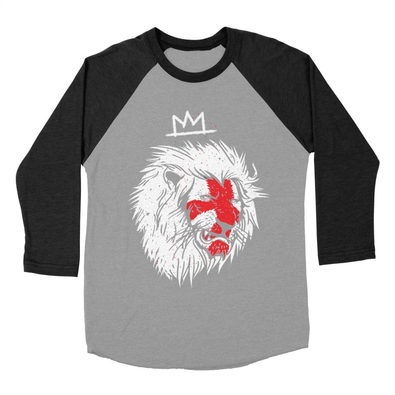 Conquer Men's Baseball Triblend Longsleeve T-Shirt by maus ventura's Artist Shop