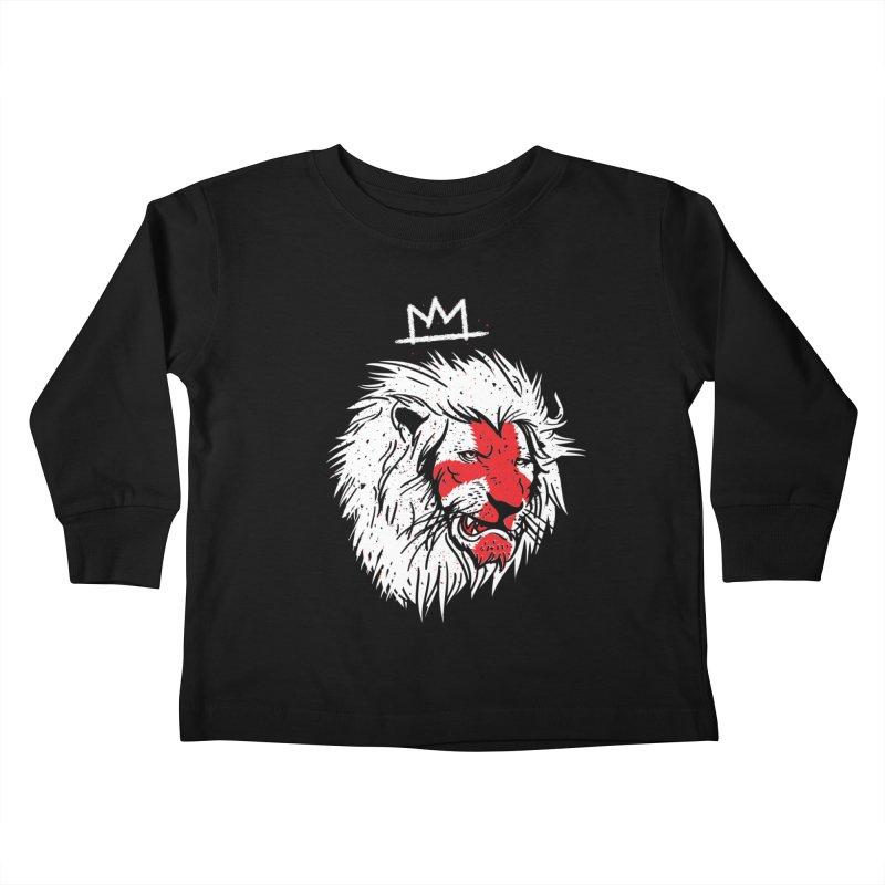 Conquer Kids Toddler Longsleeve T-Shirt by maus ventura's Artist Shop