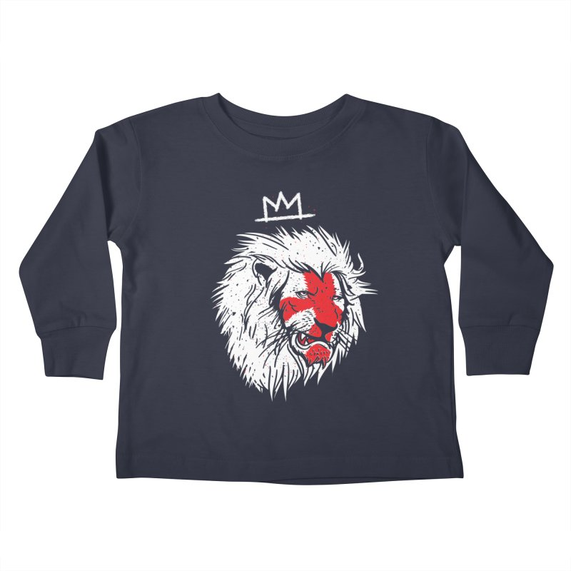 Conquer Kids Toddler Longsleeve T-Shirt by maus ventura's Artist Shop