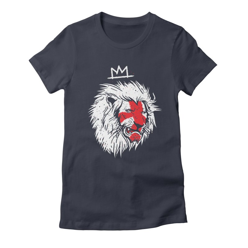 Conquer Women's Fitted T-Shirt by maus ventura's Artist Shop