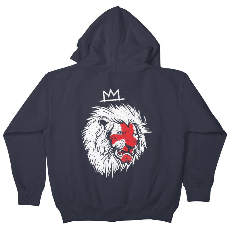 Conquer Kids Zip-Up Hoody by maus ventura's Artist Shop