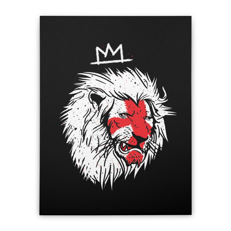 Conquer Home Stretched Canvas by maus ventura's Artist Shop