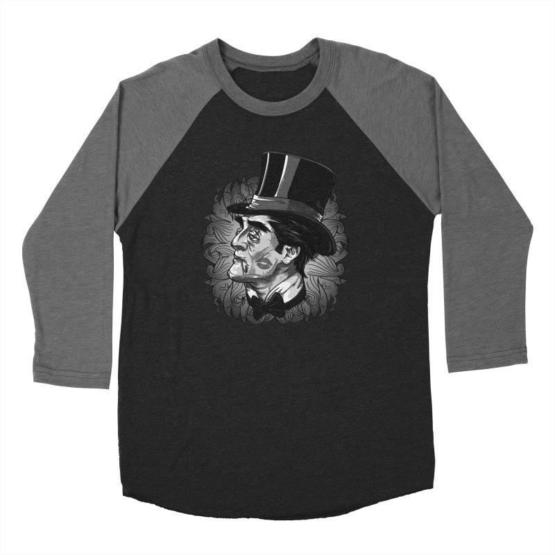 Doc Men's Baseball Triblend Longsleeve T-Shirt by maus ventura's Artist Shop