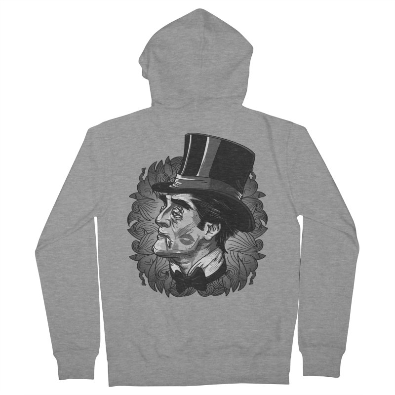Doc Men's French Terry Zip-Up Hoody by maus ventura's Artist Shop