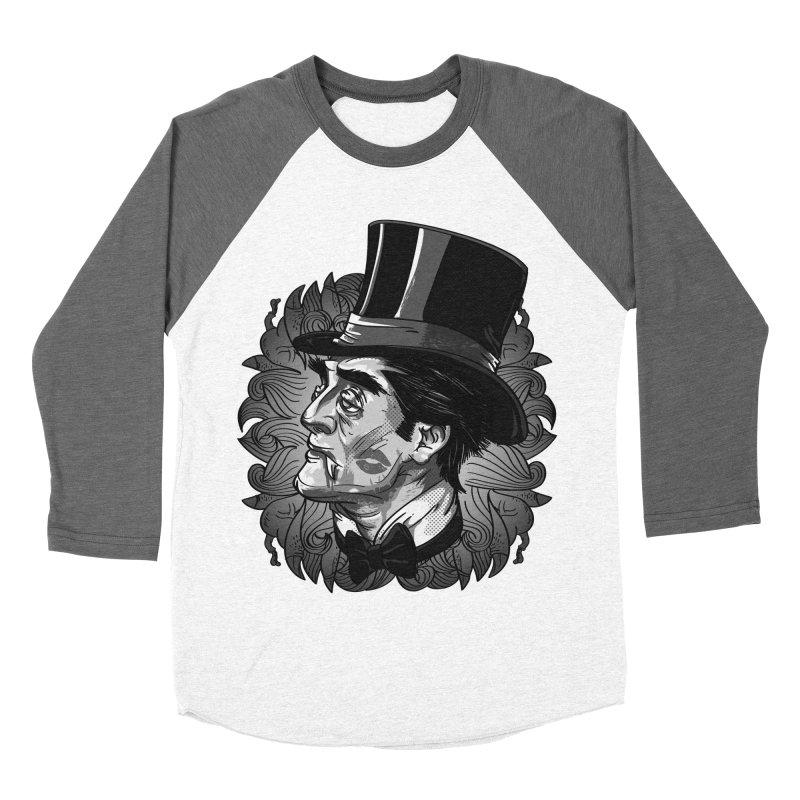 Doc Men's Baseball Triblend T-Shirt by maus ventura's Artist Shop
