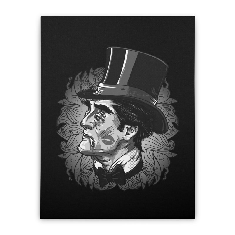 Doc Home Stretched Canvas by maus ventura's Artist Shop