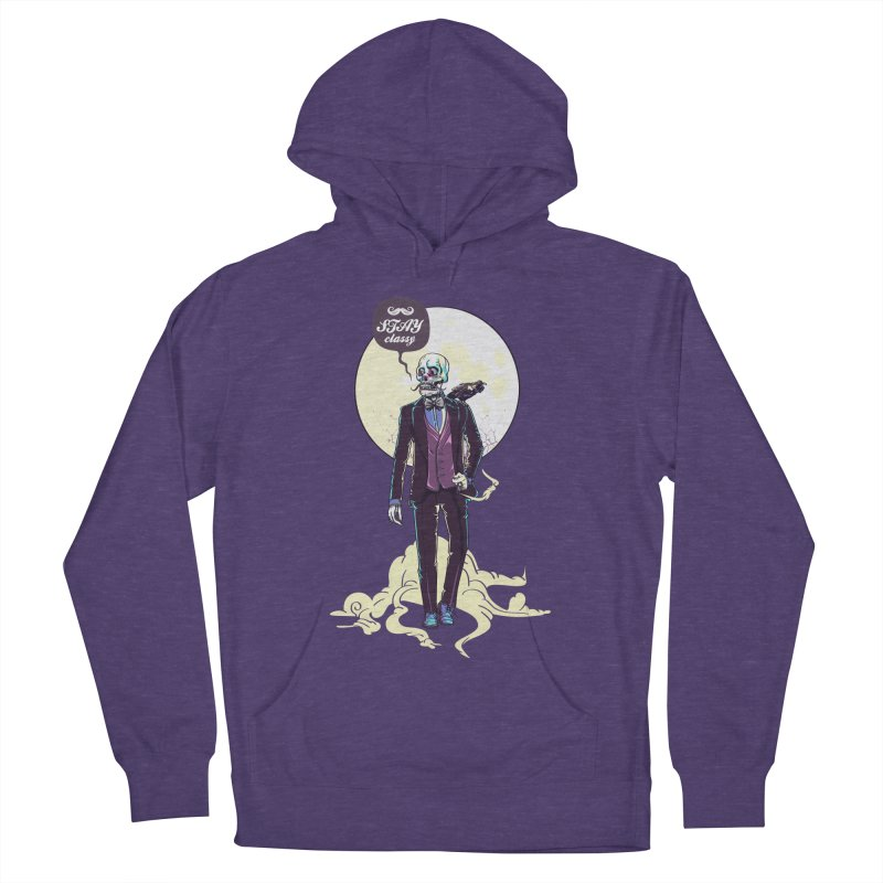 Stay Classy Women's Pullover Hoody by maus ventura's Artist Shop